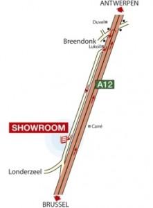 itineraire-salle-exposition-Londerzeel